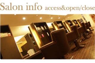 Salon info access&open/close